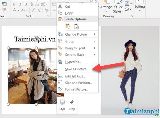 Cách lấy ảnh trong file Excel và PowerPoint về máy tính 2