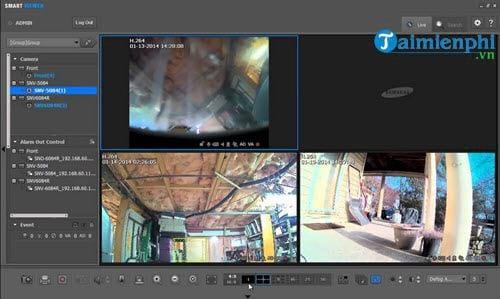 Tổng hợp các phần mềm xem Camera trên máy tính 3