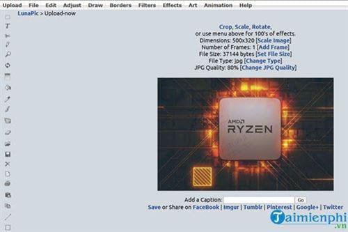 Top Website Resize ảnh trực tuyến tốt nhất