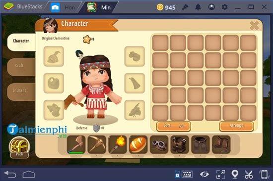 Cách chơi Mini World Block Art trên PC bằng giả lập Android 11