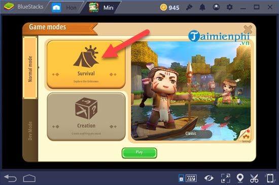 Cách chơi Mini World Block Art trên PC bằng giả lập Android 9