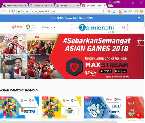 fake Indonesian ip on coc chrome coc to watch asian games 9