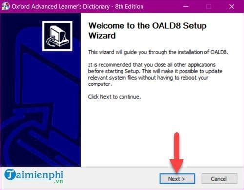 Cài và sử dụng Oxford Advanced Learners Dictionary trên máy tính 3