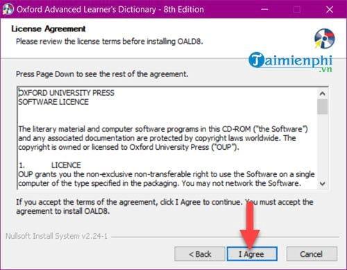 Cài và sử dụng Oxford Advanced Learners Dictionary trên máy tính 4
