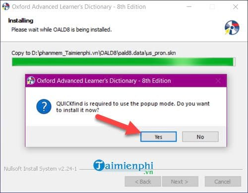 Cài và sử dụng Oxford Advanced Learners Dictionary trên máy tính 6