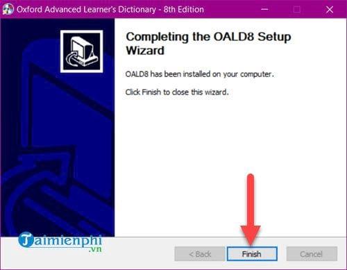 Cài và sử dụng Oxford Advanced Learners Dictionary trên máy tính 7