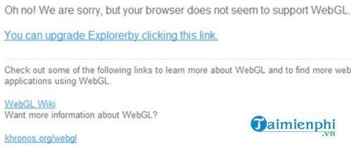 Cách bật WebGL, tắt WebGL trên trình duyệt Chrome, Coc Coc
