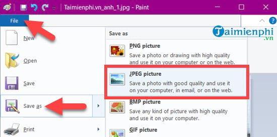 Photo collage on Windows 10 15
