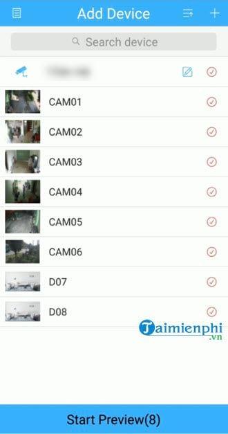 User application xmeye view camera 6