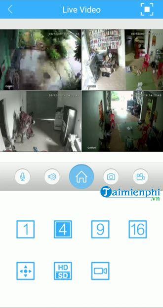 User application xmeye view camera 7