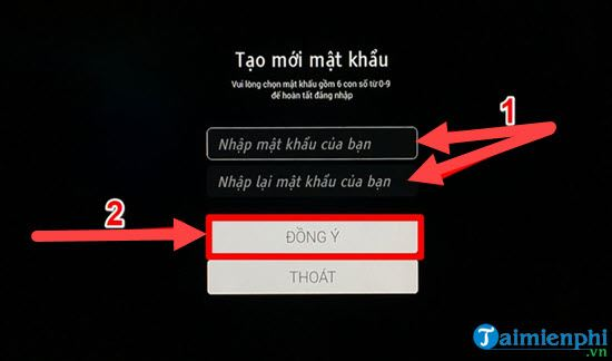 Directs the fpt play call on smart TV sony 8