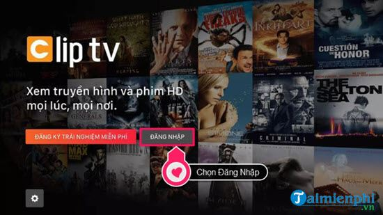 Direction of active call of cliptv on smart television lg 4