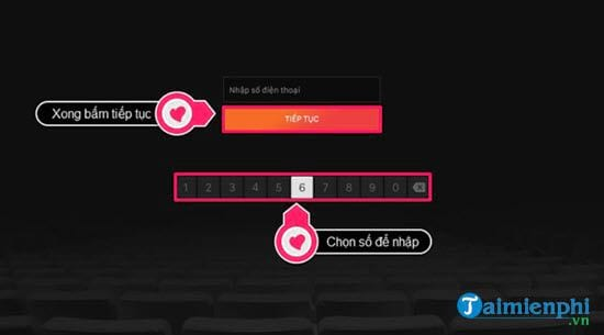 Direction of active call of cliptv on smart television lg 5