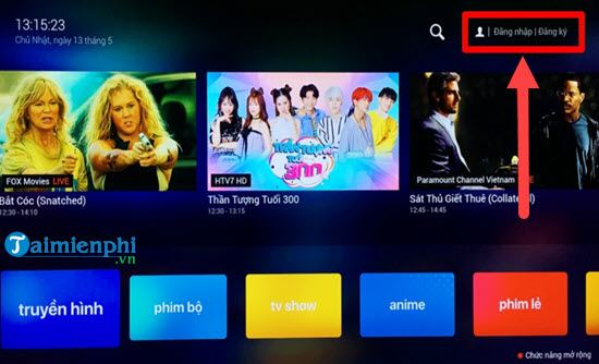Directive works with fpt play extension on smart TVs samsung 4