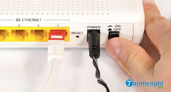 Sửa lỗi Không thể kết nối đến máy chủ, Vui lòng kiểm tra đường truyền 2
