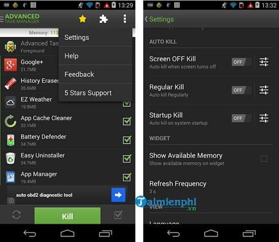 Dùng ứng dụng tắt chạy ngầm trên Android nào tốt? 4