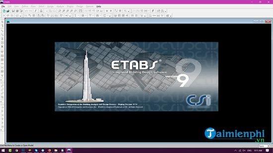 Hướng dẫn tải và cài đặt ETABS, phần mềm phân tích thiết kế nhà