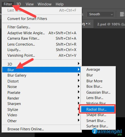 Cách tạo tia sáng cho chữ trong Photoshop CC 2020, CS6