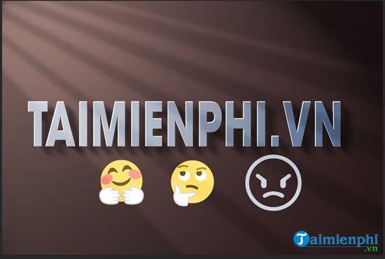 Hướng dẫn chèn biểu tượng cảm xúc (emoji) vào ảnh trong Photoshop