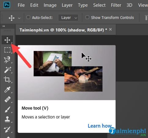 Guide to the effect of light and shadow in photoshop 21