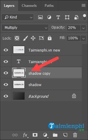 Guide to the effect of light and shadow in photoshop 24