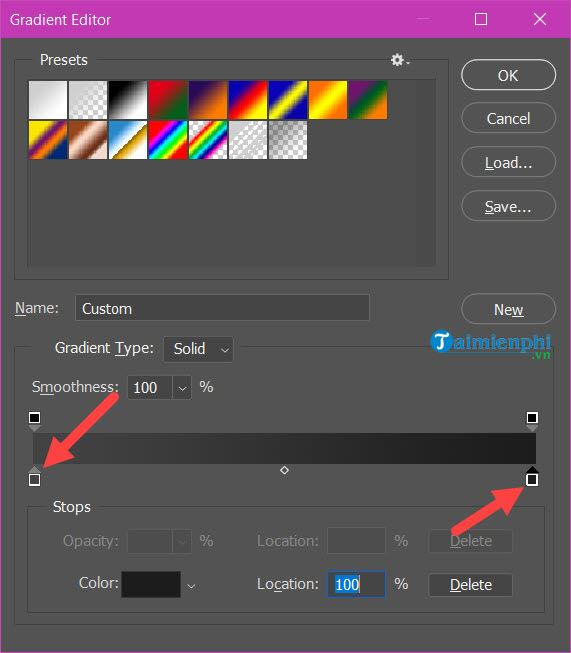 Guide to the effect of light and shadow in photoshop 4