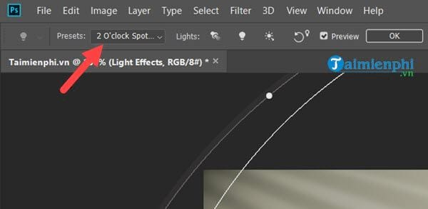 Guide to the effect of light and shadow in photoshop 44