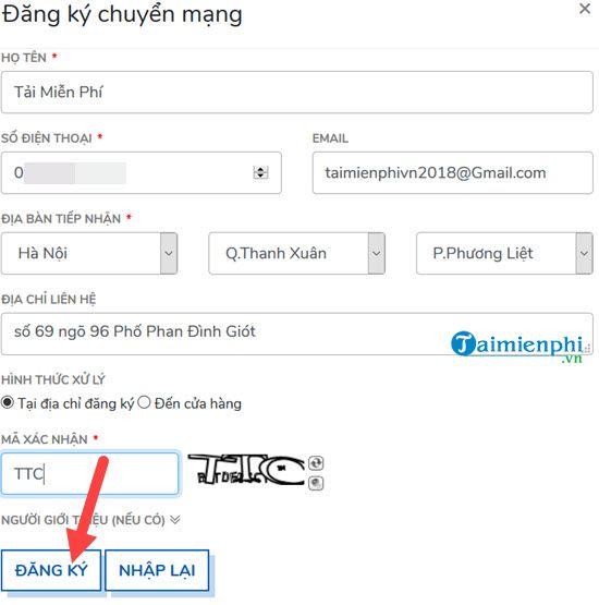 chuyen mang giu so sang mobifone tai nha nhu the nao 3