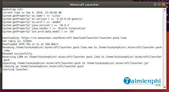 Cách cài Minecraft trên Ubuntu, chơi game Minecraft trên hệ