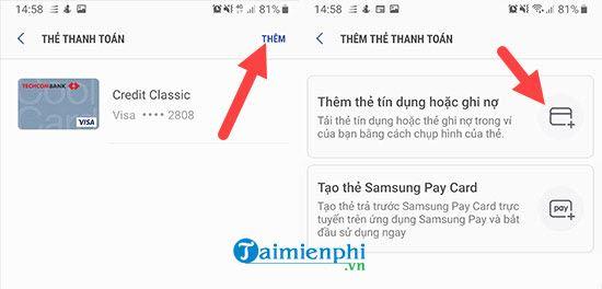 Cách Add thẻ ngân hàng vào Samsung Pay trên Galaxy note 9