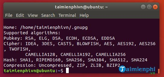 huong dan cach ma hoa files va thu muc tren ubuntu 9