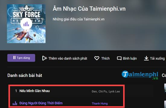 How to make playlist of music on zing mp3 Create playlists of rieng minh 12