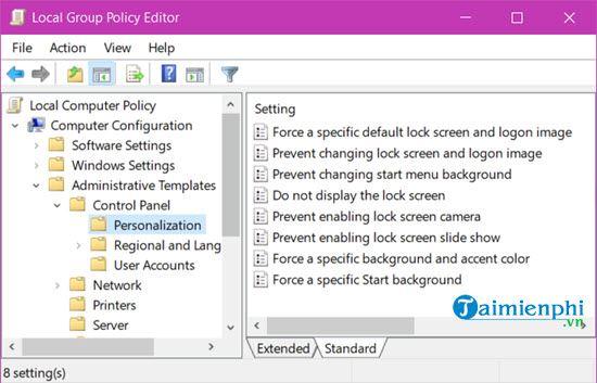 Kích hoạt Gpedit.msc trên Windows 10 Home 9