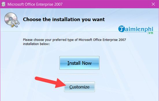 parallel installation of 2007 and 2010 offices on computer 9