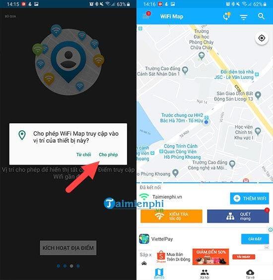 Cách sử dụng wifi miễn phí với WiFi Map 3