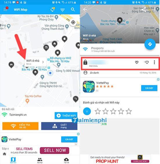Cách sử dụng wifi miễn phí với WiFi Map 4