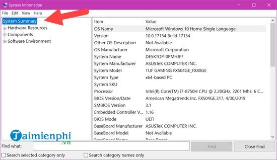 Cách kiểm tra cấu hình máy tính, xem phần cứng laptop Win 10, 7, 8, XP 2
