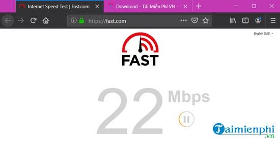 Cách kiểm tra tốc độ mạng internet Viettel, FPT, VNPT trên máy tính 2