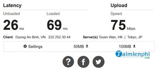 Cách kiểm tra tốc độ mạng internet Viettel, FPT, VNPT trên máy tính 3
