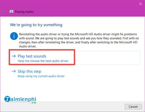 Cách sửa lỗi máy tính bị mất âm thanh, laptop không có tiếng 12
