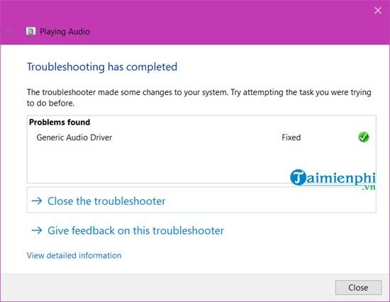 Cách sửa lỗi máy tính bị mất âm thanh, laptop không có tiếng 15
