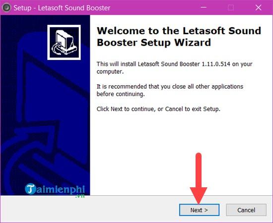 cach tang am luong loa cho laptop bang sound booster