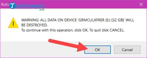 Cách tạo bộ cài Windows 10 từ USB, tạo USB Boot Win 10 5
