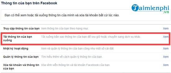 Làm thế nào để khôi phục tin nhắn Facebook bị xóa? 3