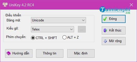 Cách sửa lỗi Unikey không gõ được tiếng Việt có dấu trên máy tính, laptop 2