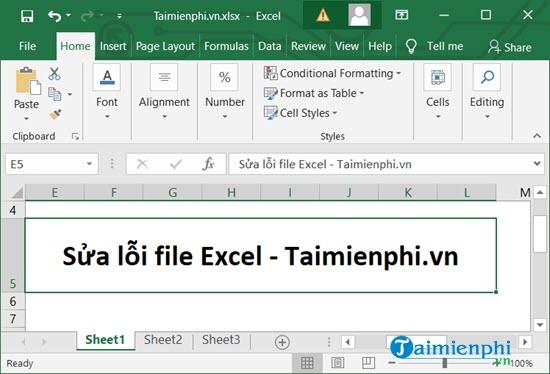 Sửa lỗi file Excel, khắc phục tập tin Excel bị lỗi trên PC nhanh chóng và hiệu quả 15