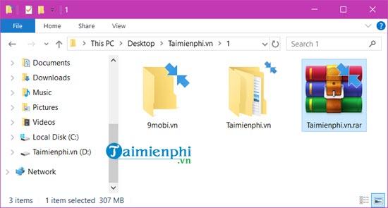 Cách nén và giải nén file bằng WinRAR trên máy tính 9