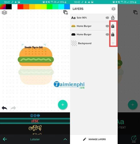 Cách tạo logo bằng Logo Foundry trên điện thoại