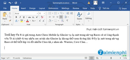 Sửa lỗi font chữ trong Word 2010, 2003, 2016, 2010, 2013 2