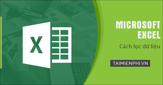 loc du lieu giua cac sheet trong Excel